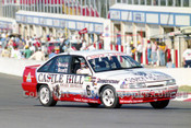 93016  -  Peter Brock / Tony Scott  - Holden VP Commodore SS - First in Class D, James Hardie 12 Hour, Bathurst 11th April 1993 - Photographer Marshall Cass