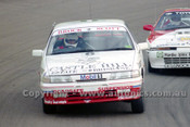 93018  -  Peter Brock / Tony Scott  - Holden VP Commodore SS - First in Class D, James Hardie 12 Hour, Bathurst 11th April 1993 - Photographer Marshall Cass