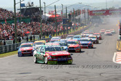 208742 - S. Richards / M. Winterbottom - Ford Falcon BF - First Lap Bathurst 2008