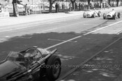 56509 - Car 11 Doug Whitehead Lago-Talbot T26C & Car 19 Julian Barrett, Alta GP-2 - Australian Grand Prix  Albert Park 1956 -  Photographer Peter D'Abbs