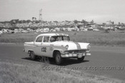 60750 - Gibbs / Carter / Wood Ford Customline - Armstrong 500 Phillip Island 1960 - Photographer Peter D'Abbs