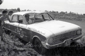 60751 - Bob Jane /  L. Molina  Ford Falcon XK - Armstrong 500 Phillip Island 1960 - Photographer Peter D'Abbs