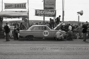 60753 - Ron Phillips / Ern Seeliger  Ford Falcon XK - Armstrong 500 Phillip Island 1960 - Photographer Peter D'Abbs