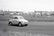 60755 - Brian Pyers / Frank Elkins  Fiat 600 - Armstrong 500 Phillip Island 1960 - Photographer Peter D'Abbs
