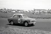 60756 - Bob Brown / Michael Lempriere - Simca Aronde    Armstrong 500 Phillip Island 1960 - Photographer Peter D'Abbs