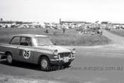 60757 - Graham Hoinville / Austin Miller - Triumph Herald  - Armstrong 500 Phillip Island 1960 - Photographer Peter D'Abbs