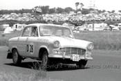 60759 - Norm Beechey / John French  - Standard Vanguard    Armstrong 500 Phillip Island 1960 - Photographer Peter D'Abbs