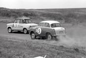 60761 - Hoot Gibson / J. Gorman  NSU Prinz &  G. Livingston / P. Candy  Lloyde Alexander TS- Armstrong 500 Phillip Island 1960 - Photographer Peter D'Abbs