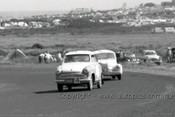 60762 - K. Lott / G. Petty  Lloyde Alexander TS& L. Park / J. Fleming  Renault 750 -   Armstrong 500 Phillip Island 1960  - Photographer Peter D'Abbs