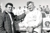 62751 - Harry Firth and Bob Jane - Ford Falcon XL - Winners - Armstrong 500 - Phillip Island 1962 - Photographer Peter D'Abbs