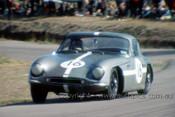64416 - Kevin Bartlett - T.V.R. Grantura MK. 3  - Lakeside 1964 - Photographer John Stanley