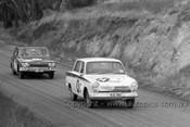 64750 - A. Cooper / J. Hills - Ford Cortina GT & A. Davison / R. Tresise Triumph 2000 -  Bathurst 1964 - Photographer Lance Ruting
