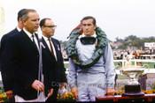 665991 - Jackie Stewart, BRM - Winner of the Sandown 1966 Tasman Race -  Photographer Peter D'Abbs