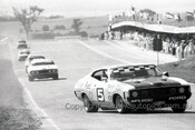 73758  -  John Goss & Kevin Bartlett, Ford Falcon XA GT-  Bathurst 1973 -  Photographer Lance J Ruting