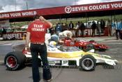 76642 - Max Stewart & Kevin Bartlett - Lola T400 - Bathurst 1976 - Photographer Lance J Ruting