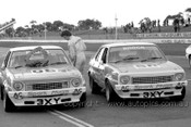 77059 - Peter Brock & Phillip Brock Holden Torana L34  - Calder 1977 - Photographer Peter D' Abbs