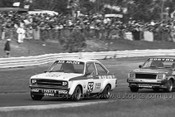 81061 - Bob Holden, Escort MK2 & P. Boston, Isuzu Gemini  - Sandown 1981 - Photographer Darren House