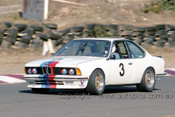 85041 - Ken Baigent, BMW 635csi - Amaroo 7th July 1985 - Photographer Lance J Ruting