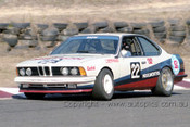 85046 - Glen Molloy, BMW 635csi - Amaroo 7th July 1985 - Photographer Lance J Ruting