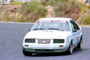 86034 - Kevin Clark, Ford Mustang - Amaroo 1986 - Photographer Lance J Ruting