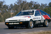 86039 - John Giddings, Nissan Gazelle - Oran Park 1986 - Photographer Ray Simpson