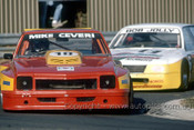 86045 - Mike Ceveri & Bob Jolly, Holden Toran - Sandown 1986 - Photographer Ray Simpson
