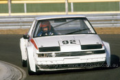86047 - Graham Smith, Mazda 929 - Sandown 1986 - Photographer Ray Simpson