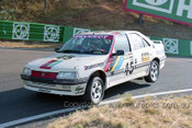 92036 - I. Luff / B. Jennings / P. Gover, Peugeot 405 Mi16  - Bathurst 12 Hour 1992 -  Protographer Ray Simpson