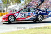 93020  -  Craig Lowndes  - Holden VP Commodore - Adelaide 1993 - Photographer Marshall Cass