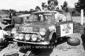 74956 - Brian Culcheth & Roger Bonhomme - Morris Cooper S - 1970 - Photographer Lance J Ruting