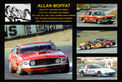360 - Allan Moffat - A collage of a few of the cars he drove during his career
