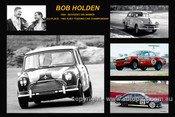 361 - Bob Holden - A collage of a few of the cars he drove during his career