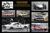 365 - Colin Bond - A collage of a few of the cars he drove during his career