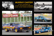 367 - Murray Carter - A collage of a few of the cars he drove during his career