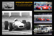374 - Spencer Martin - A collage of a few of the cars he drove during his career
