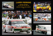382 - Larry Perkins - A collage of a few of the cars he drove during his career