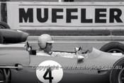 63580 - Jack Brabham, Brabham - Sandown International -  11th  March 1963 - Photographer Peter D'Abbs