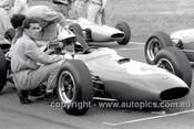 64547 - Lex Davison,  Brabham Climax -  Warwick Farm 1964 - Photographer Lance J Ruting