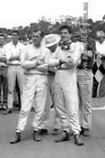64555 - Frank Matich,  Brabham Climax -  Warwick Farm 1964 - Photographer Lance J Ruting