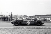 64556 - Frank Gardner, Brabham - Tasman Series Sandown 1964 - Photographer Peter D'Abbs