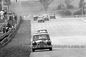 66744  -   R. Aalten / Bob Holden Outright and Class C Winners Morris Cooper S - Bathurst 1966 - Photographer Lance J Ruting