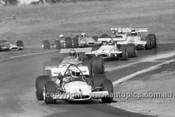 71647 - Kevin Bartlett, McLaren M10B / Max Stewart Rennmax Waggot / Graeme Lawrence, Brabham BT30 - Oran Park 1971 - Photographer David Blanch