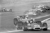 71648 - Alan Hamilton, McLaren M10B & Colin Hyams, Lola T192 Chev - Oran Park 1971 - Photographer David Blanch