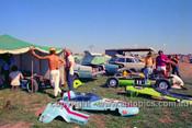 72532 - #14 Eric Marsh, Malmark Vee, #11 Mal Arscott, BCMS Formula Vee - Phillip Island 1972- Photographer Peter D'Abbs