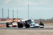 72660 - Robie Francevic & Frank Radisich, McLaren M10B Chev V8, Adelaide Tasman Series  1972 - Photographer Jeff Neild