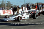 74655 - Warwick Brown, Lola T332 - Oran Park 4th August 1974 -  Photographer Jeff Nield