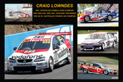 359 - Craig Lowndes - A collage of a few of the Holden cars he has driven.