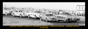 385 - First Lap Calder 1969 - Beechey, Monaro - Moffat & Geoghegan, Mustangs - Hamilton, Porsche & J. McKeown, Cortina - A Panoramic Photo 30x10inches.