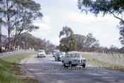 63716 - Frank Matich & George Murray, Renault R8 - Des West & John Martin, Morris Cooper - Armstrong 500 Bathurst 1963 - Photographer Ian Thorn