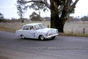 63717 - Bruce Mcphee & Graham Ryan, Ford Cortina GT - Armstrong 500 Bathurst 1963 - Photographer Ian Thorn